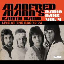 Manfred Mann: Radio Days Vol 4 - Live At The BBC 70-73 (180g), 3 LPs