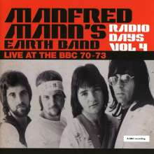 Manfred Mann: Radio Days Vol 4 - Live At The BBC 70 - 73, 2 CDs