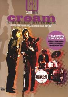Cream: Classic Artists - Their Fully Authorised Story (Limited Edition), 2 DVDs