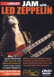 Jam with Led Zeppelin (+ CD), DVD