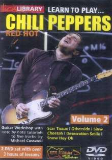 Learn to play Chili Peppers - Volume 2  [2 DVDs], 2 DVDs