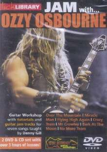 Jam with Ozzy Osbourne  [2 DVDs]  (+ CD), 2 DVDs