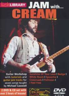 Jam with Cream  [2 DVDs]  (+ CD), 2 DVDs