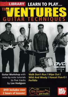 Learn to play The Ventures, DVD