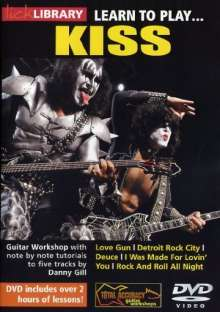 Learn to play Kiss, DVD