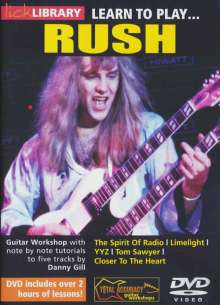 Learn to play Rush, DVD