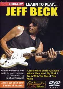 Learn to play Jeff Beck  [2 DVDs], 2 DVDs