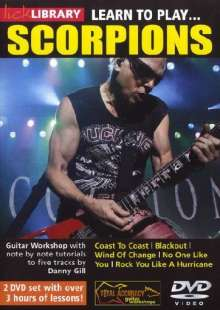 Learn to play Scorpions  [2 DVDs], 2 DVDs