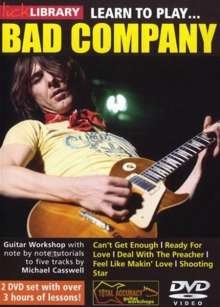Learn to play Bad Company  [2 DVDs], 2 DVDs