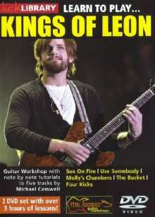 Learn to play King of Leon  [2 DVDs], 2 DVDs