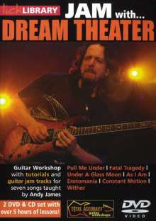 Jam with Dream Theatre  [2 DVDs]  (+ CD), 2 DVDs