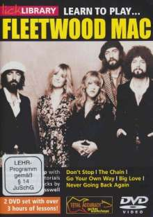 Learn to play Fleetwood Mac  [2 DVDs], 2 DVDs