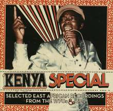 """Kenya Special - Selected East Africa Recordings From The 1970s & '80s, 3 LPs und 1 Single 7"""""""