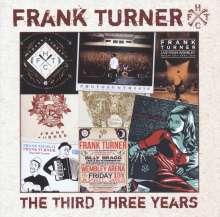 Frank Turner: The Third Three Years, CD