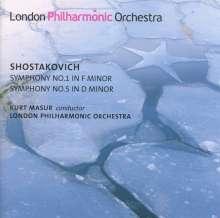 Dmitri Schostakowitsch (1906-1975): Symphonien Nr.1 & 5, Super Audio CD