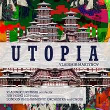 Vladimir Martynov (geb. 1946): Utopia Symphony, CD
