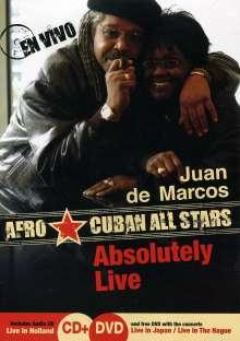 Juan De Marcos Gonzales: Absolutely Live (DVD + CD), 2 DVDs