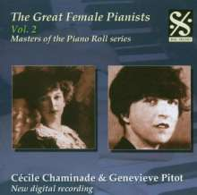 Piano Roll Recordings - Cecile Chaminade & Genevieve Pitot, CD