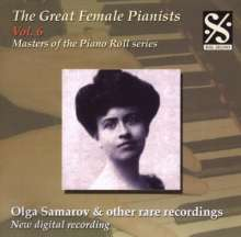 Piano Roll Recordings - Olga Samarov u.a., CD