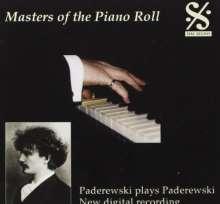 Piano Roll Recordings - Ignace Paderewski, CD