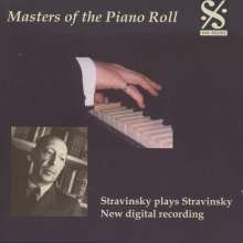 Piano Roll Recordings - Strawinsky spielt Strawinsky, CD