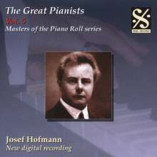 Piano Roll Recordings - Josef Hofmann, CD