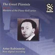 Piano Roll Recordings - Arthur Rubinstein, CD