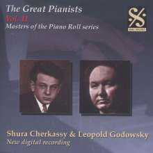 Piano Roll Recordings - Shura Cherkassky & Leopold Godowsky, CD