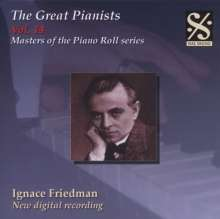Piano Roll Recordings - Ignace Friedman, CD