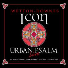 iCon (Wetton/Downes): Urban Psalm Live (Deluxe-Edition), 3 CDs