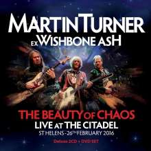 Martin Turner: The Beauty Of Chaos: Live At The Citadel St Helens 2016 (Deluxe-Edition), 2 CDs