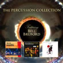 The Percussion Collection Feat. Bill Bruford, 3 CDs