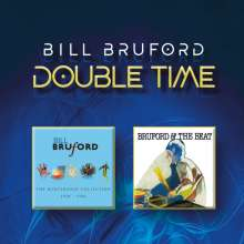 Bill Bruford: Double Time: The Winterfold Collection / Bruford And The Beat, 1 CD und 1 DVD