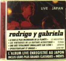 Rodrigo Y Gabriela: Live In Japan, CD