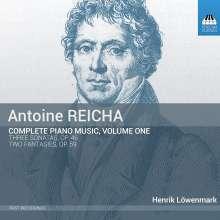 Anton Reicha (1770-1836): Sämtliche Klavierwerke Vol.1, CD