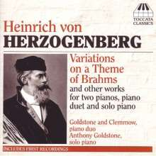 Heinrich von Herzogenberg (1843-1900): Klavierwerke, CD