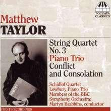 Matthew Taylor (geb. 1964): Klaviertrio op.17, CD