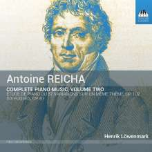 Anton Reicha (1770-1836): Sämtliche Klavierwerke Vol.2, CD