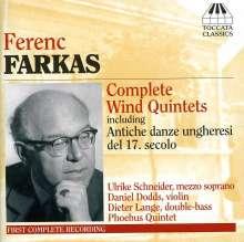 Ferenc Farkas (1905-2000): Kammermusik für Bläser, CD