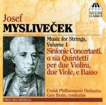 Josef Myslivecek (1737-1781): Sinfonie Concertanti op.2 Nr.1-6, CD