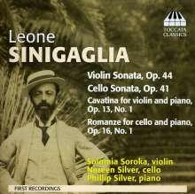Leone Sinigaglia (1868-1944): Violinsonate op.44, CD