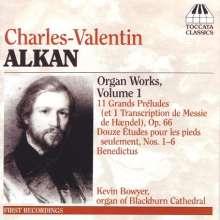 Charles Alkan (1813-1888): Orgelwerke Vol.1, CD