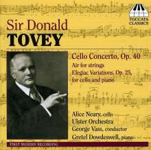 Donald Francis Tovey (1875-1940): Cellokonzert, CD