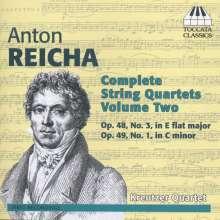 Anton Reicha (1770-1836): Sämtliche Streichquartette Vol. 2, CD