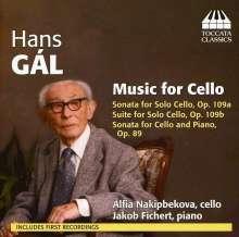 Hans Gal (1890-1987): Kammermusik mit Cello, CD