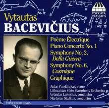 Vytautas Bacevicius (1905-1970): Symphonien Nr.2 & 6, CD