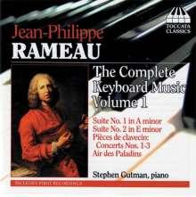 Jean Philippe Rameau (1683-1764): Sämtliche Klavierwerke Vol.1, CD