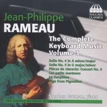 Jean Philippe Rameau (1683-1764): Sämtliche Klavierwerke Vol.3, CD