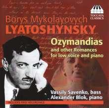 Boris Lyatoshinsky (1895-1968): Romanzen für Stimme & Klavier, CD