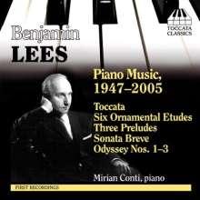 Benjamin Lees (1924-2010): Klavierwerke, CD